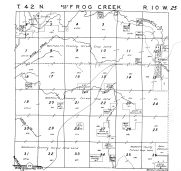 Frog Creek Township - East, Washburn County 1952